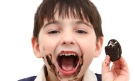 Les enfants adorent les biscuits au chocolat !